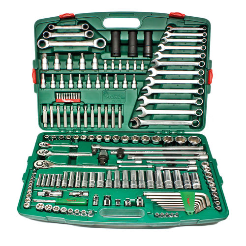 "Universal Tool Kit 163-Pieces 1/4"" & 3/8"" & 1/2"""