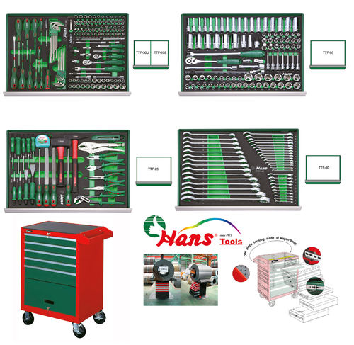 Tool Kit 296-Pieces & Tool Trolley